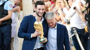 Didier Deschamps Hugo Lloris Paris France 16072018