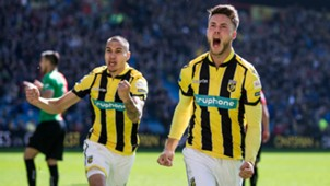 Kevin Diks Ricky van Wolfswinkel Vitesse NEC Eredivisie