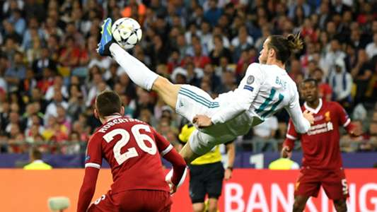 Gareth Bale bicycle kick Champions League