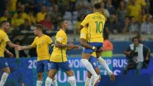 Jesus Paulinho, Coutinho, Neymar Brazil Argentina 10112016