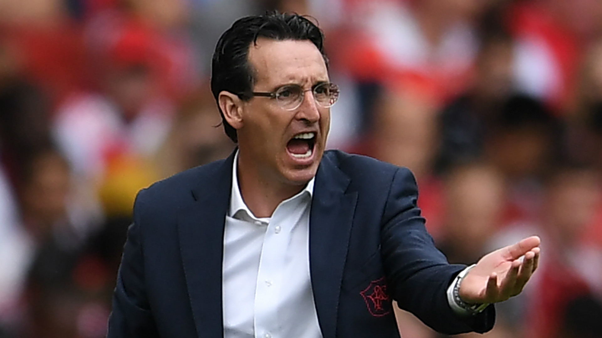 Emery urges Arsenal to seize 'amazing opportunity' against Liverpool