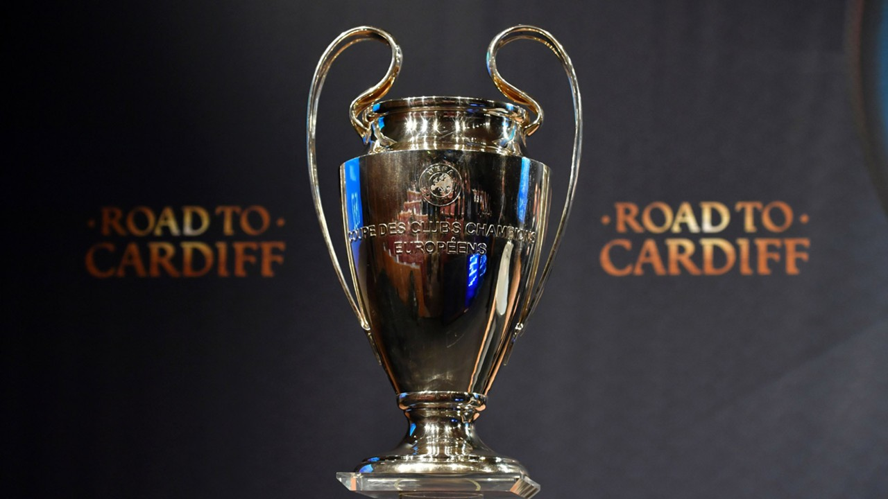 Champions League trophy 2016-17
