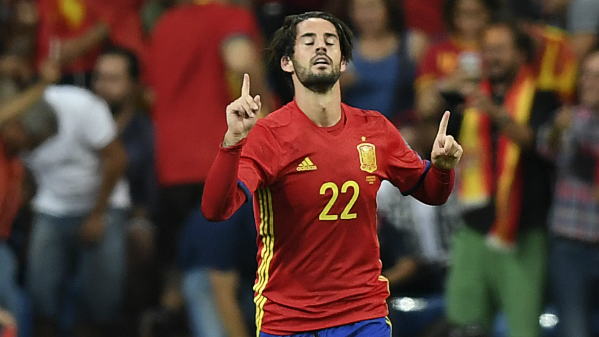 isco Alarcon Spain Italy WC Qualifiers