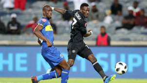 Kwanda Mngonyama, Cape Town City & Augustine Mulenga, Orlando Pirates, September 2018