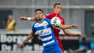 Younes Namli - Dejan Trajkovski, PEC Zwolle - FC Twente, Eredivisie 08262017