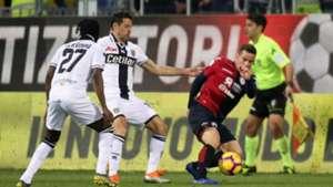 Simone Padoin Cagliari Parma Serie A