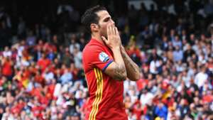 Cesc Fabregas Spain Czech Republic Euro 2016
