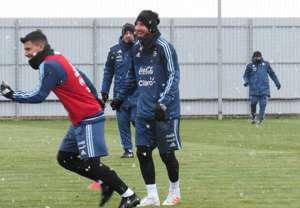 Messi Aguero Argentina 10112017