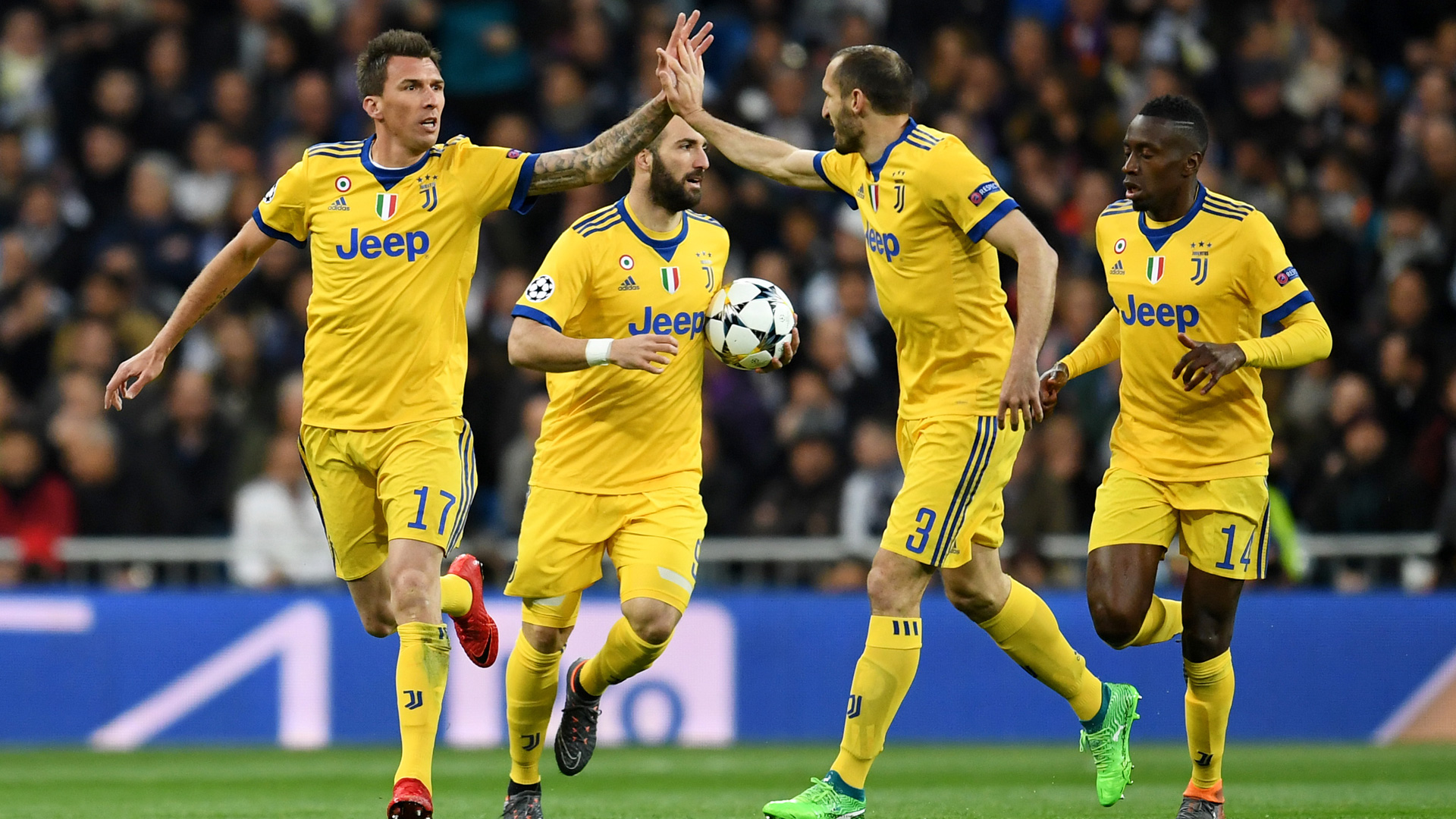 Mario Mandzukic Juventus Champions League 11042018
