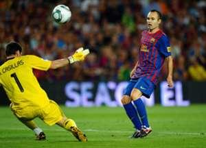 Iniesta Supercopa goal Real Madrid