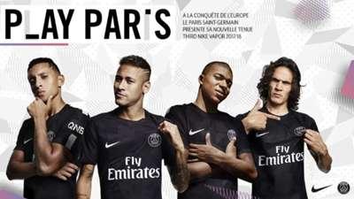 Maillot PSG noir