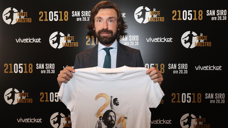 L'addio al calcio di Andrea Pirlo: tanti gli ex laziali convocati