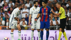 Real Madrid-Barcelona - Carvajal, Suarez