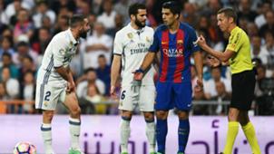 Real Madrid-Barcelona - Carvajal, Suarez