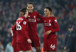 Trent Alexander-Arnold and Andy Robertson