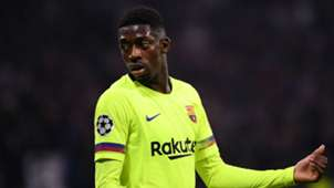 Ousmane Dembele Lyon Barcelona Champions League 19022019