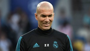 Zinedine Zidane Real Madrid 2017-18