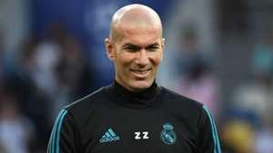 Zinedine Zidane Real Madrid 2017-18