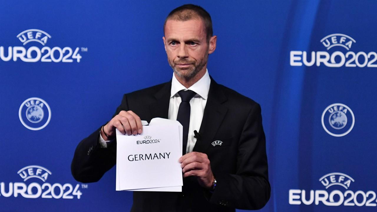 Image result for เยอรมันเบียดตุรกีได้สิทธิ์จัดยูโร 2024