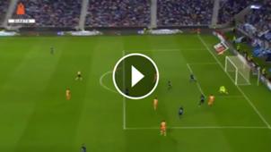 Gol Tecatito vs Deportivo La Coruña