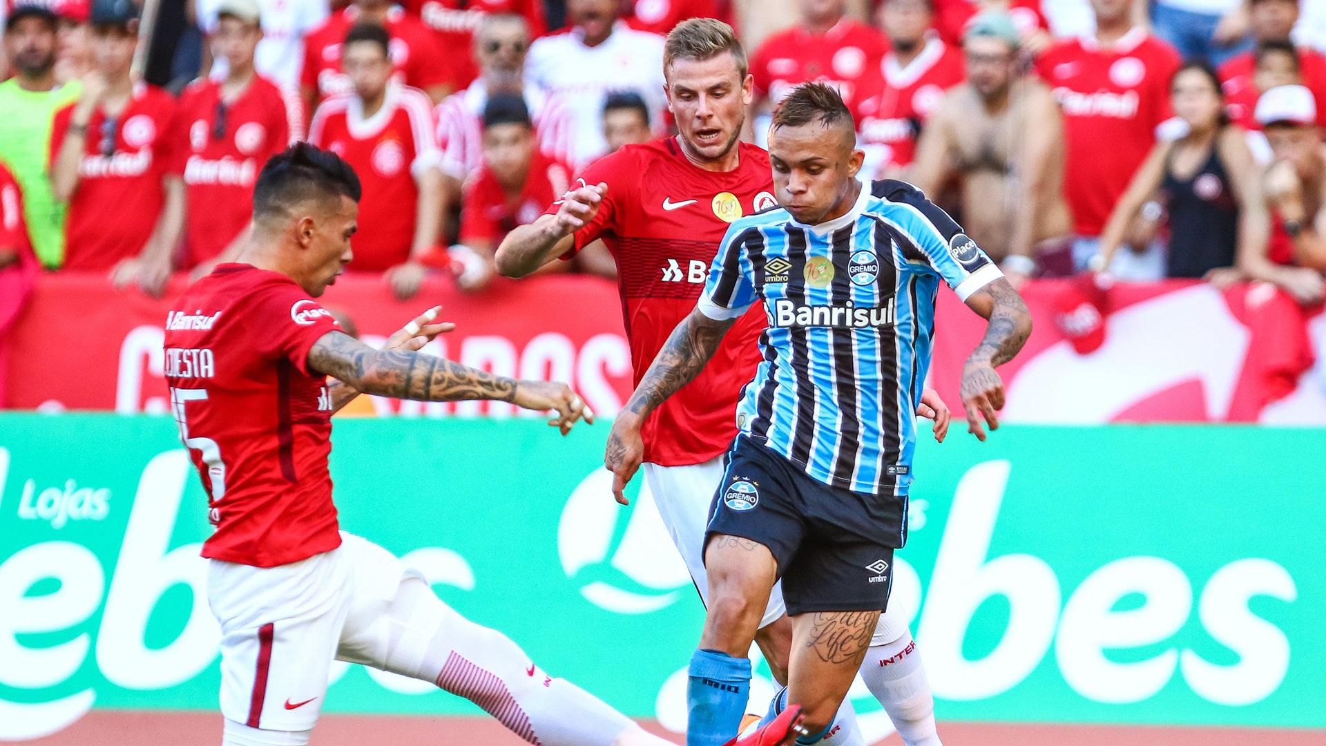 Everton Victor Cuesta Klaus Internacional Gremio 11032018 Gaucho