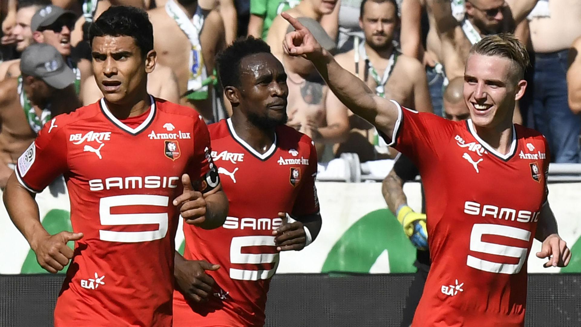 Benjamin Bourigeaud Saint-Etienne Rennes Ligue 1 24092017