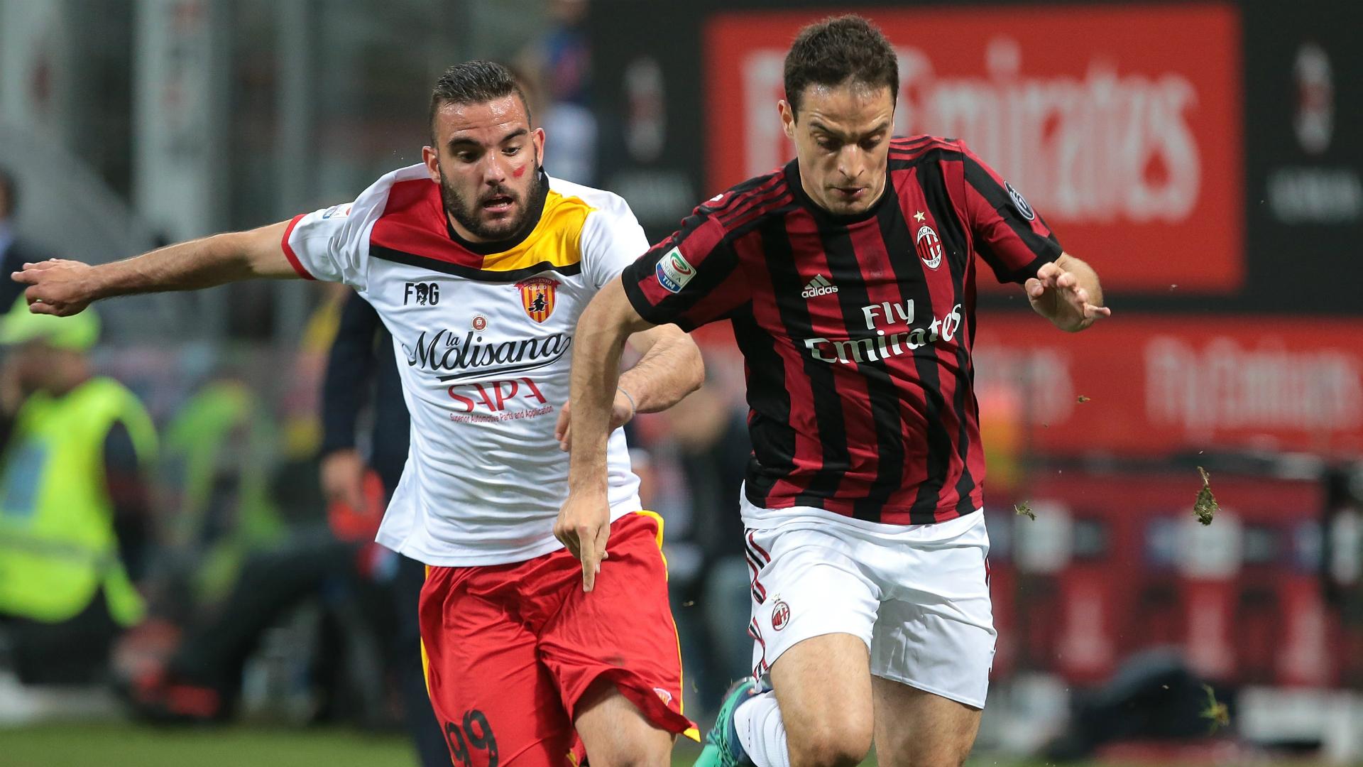 Giacomo Bonaventura Brignola Milan Benevento Serie A