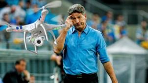 Renato Gaúcho grêmio drone 21 11 2017