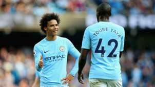 Leroy Sane/Yaya Toure Manchester City