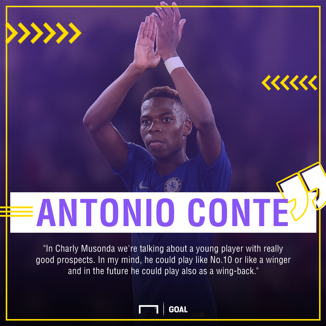 Chelsea boss Conte blasts Musonda over academy comments