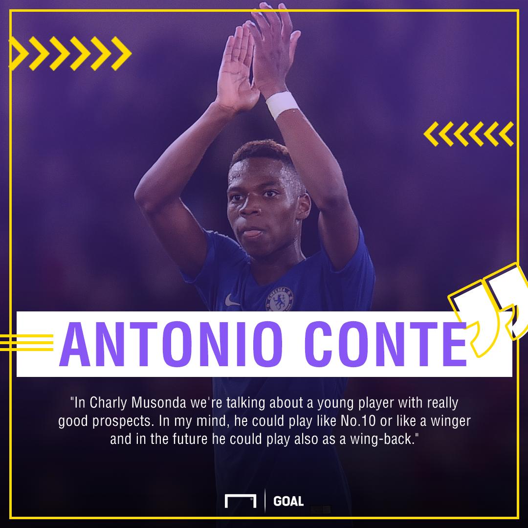 Antonio Conte Charly Musonda Chelsea PS