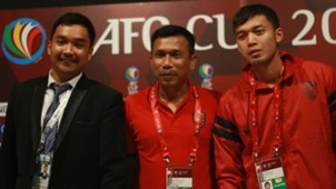 Konferensi Pers Bali United vs Global Cebu