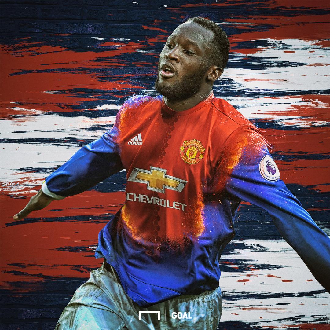 Romelu Lukaku Image 1: How Man Utd Could Line Up With Romelu Lukaku