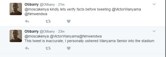 Barry Otieno tweet