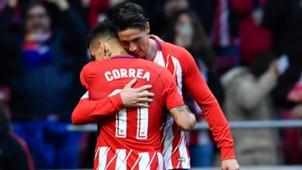 Fernando Torres Atletico Madrid 28012018