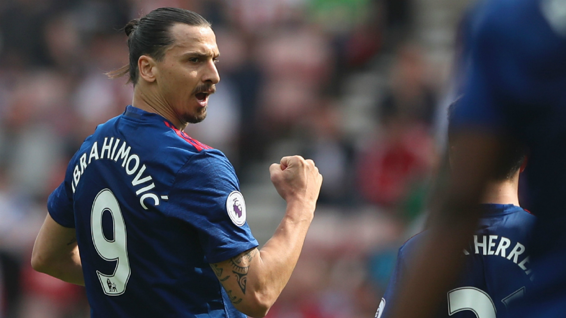 Zlatan Ibrahimovic Manchester United Premier League