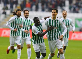 Marko Jevtovic Goal Celebration Konyaspor Antalyaspor Turkish Super League 01/27/19
