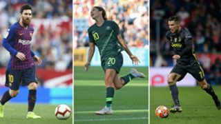 Messi/Kerr/Ronaldo