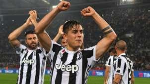 Juventus Turin players celebrate