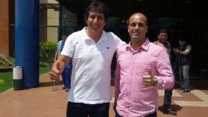 Álvaro Peña y Thiago Leitao