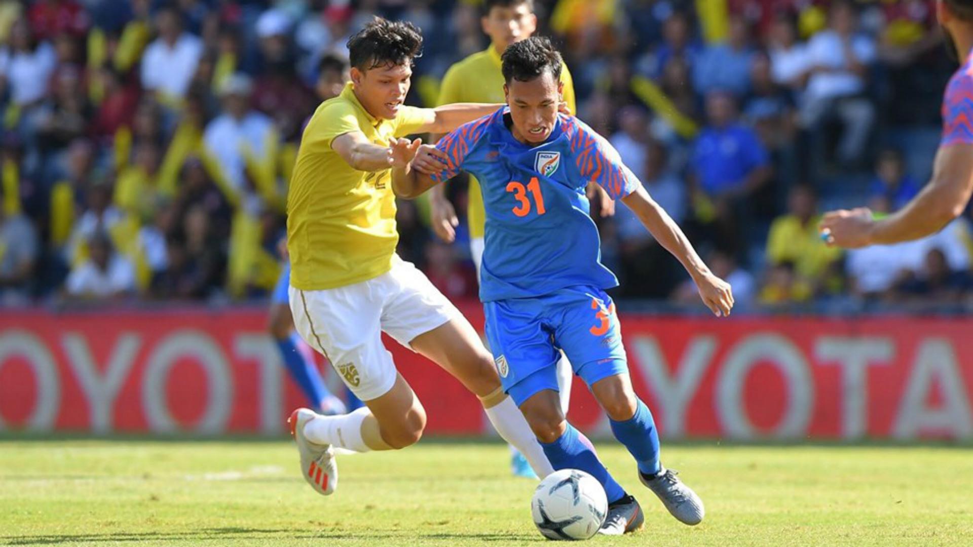 Amarjit Kiyam India Thailand King's Cup 2019