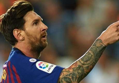 Messi y los delanteros más efectivos de Europa