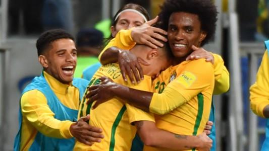 Coutinho Willian Brazil Ecuador Eliminatorias 2018 31082017