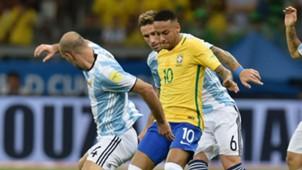 Neymar Brazil Argentina 2016