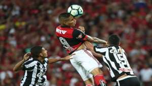 Paolo Guerrero Flamengo x Botafogo 23082017