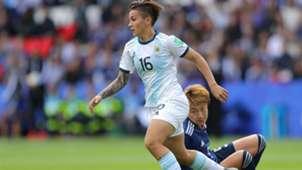 Lorena Benitez Mundial Femenino Futbol Argentina Japon 11062019