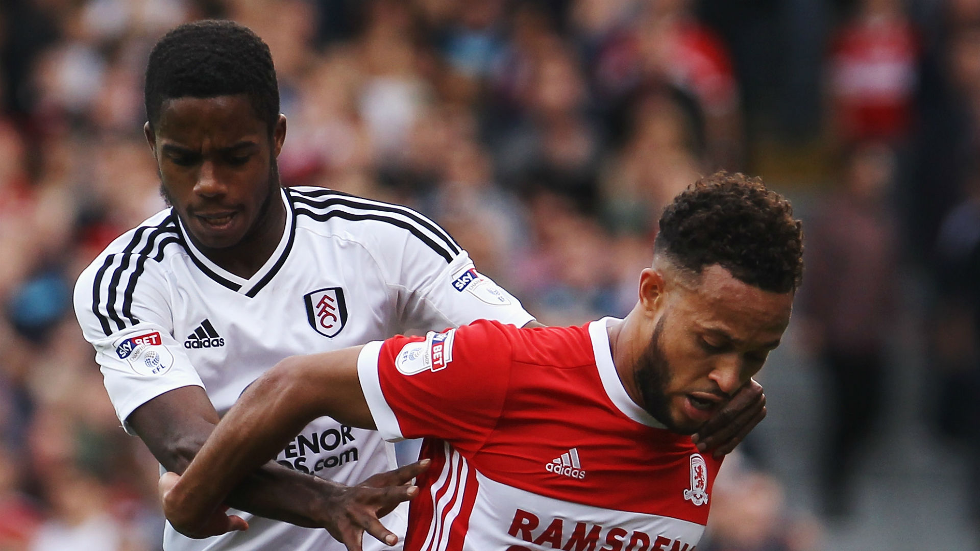 yan Sessegnon Fulham Lewis Baker Middlesbrough 2017