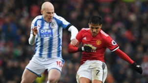 Aaron Mooy Alexis Sanchez Huddersfield Town Manchester United