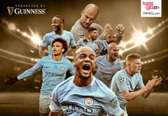 Cover Guinness - Man City - EPL 17/18 Champions