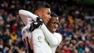 Casemiro Vinicius Junior Real Madrid